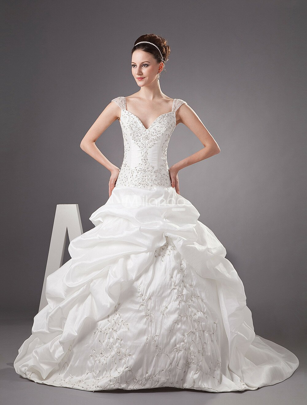 Wedding dresses cinderella style photo - 5