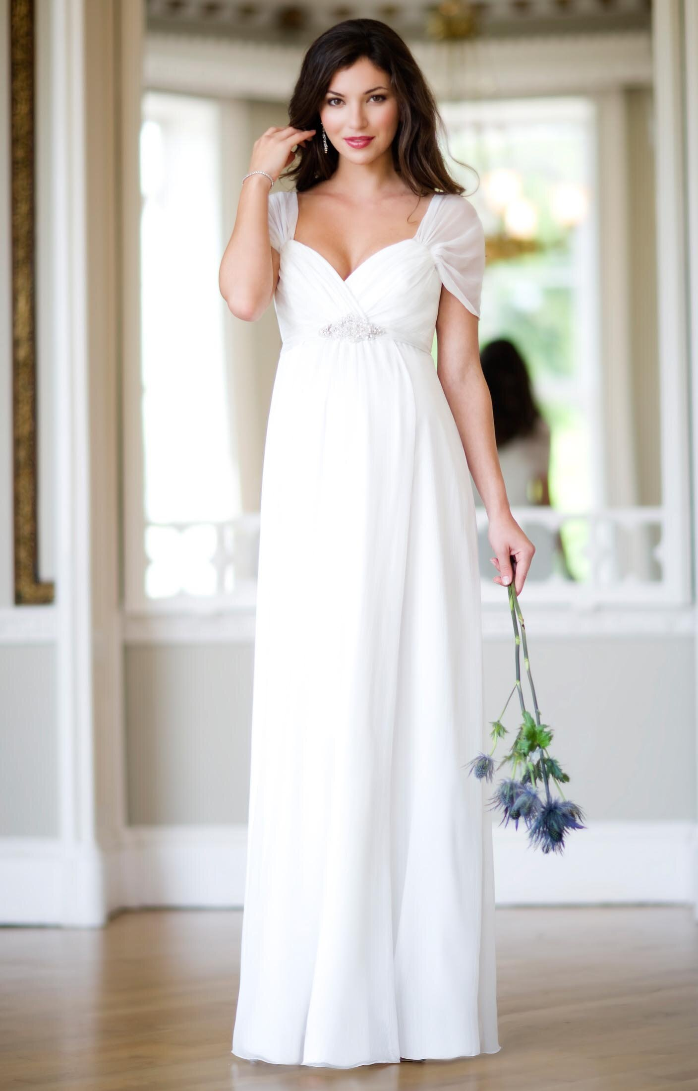 maternity wedding dresses photo - 5