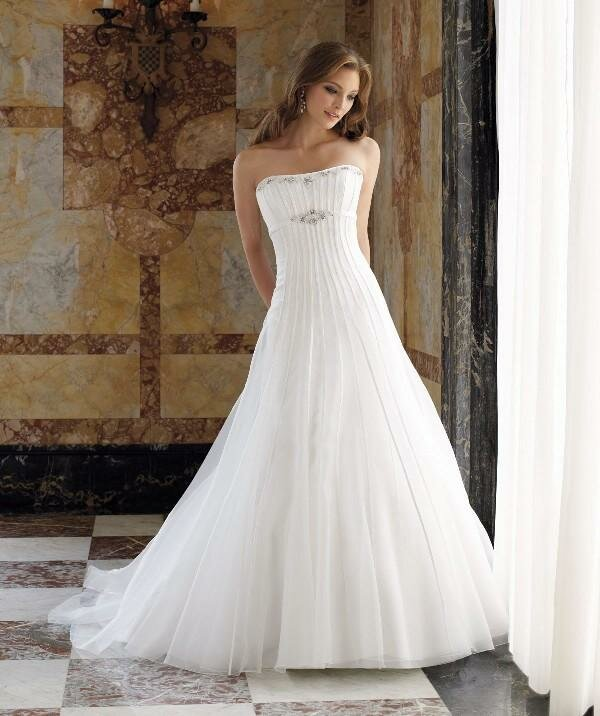 strapless wedding dresses photo - 15