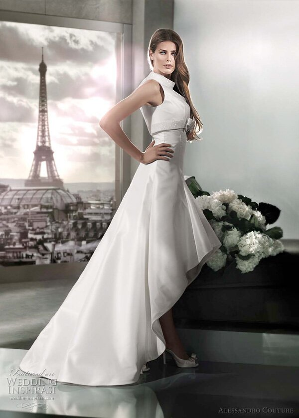 Short to long wedding dress Photo - 4