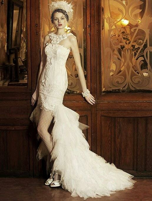 Short to long wedding dress Photo - 6