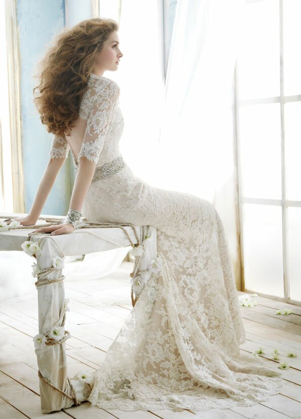 Wedding dresses with lace long sleeves: Pictures ideas, Guide to ...